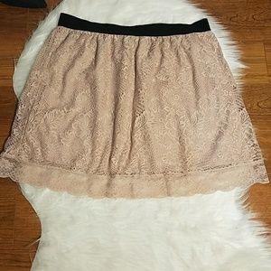 Paper+tee skirt